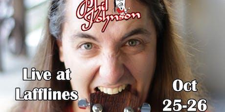 Phil Johnson tickets