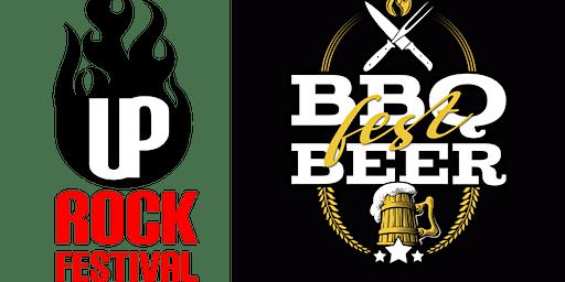 BBQ Fest Beer + UP Rock Festival de 6 a 8 de março