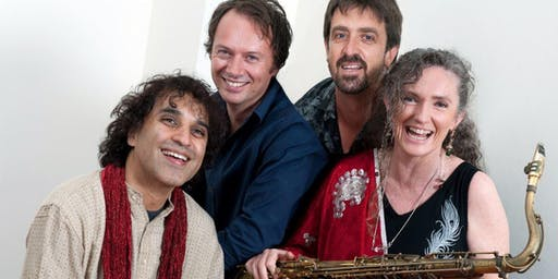 Sandy Evans Trio with guest Bobby Singh