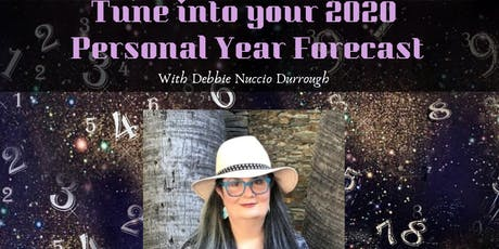 Tune in to your 2020 Personal year forecast tickets