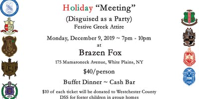Westchester Pan Hel Holiday Party 2019