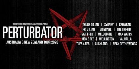 Perturbator - Wellington tickets