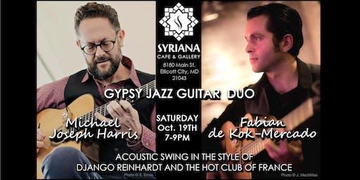 Gypsy Jazz Night- Oct