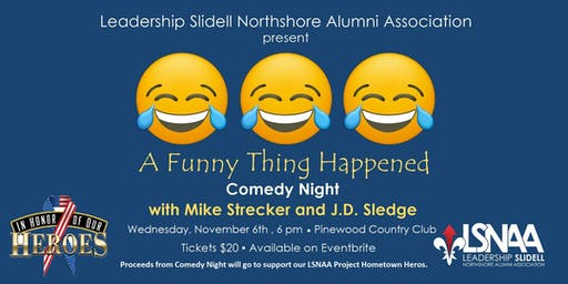 A Funny Thing Happened Comedy Night