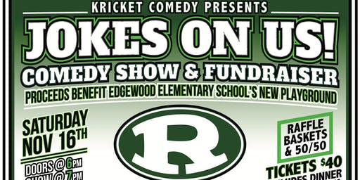 Kricket Comedy Presents: Jokes On Us! Comedy Show & Fundraiser