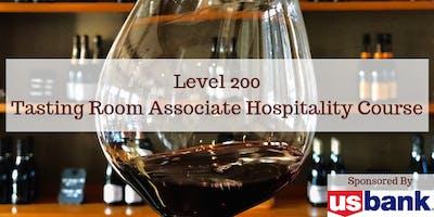 Level 200: Tasting Room Associate & Hospitality Class - October 2019