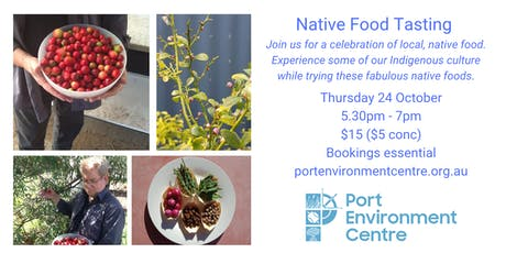 Native Food Tasting tickets