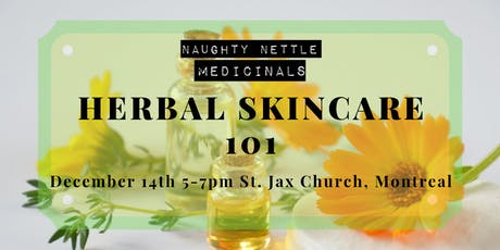 Herbal Skincare 101 tickets