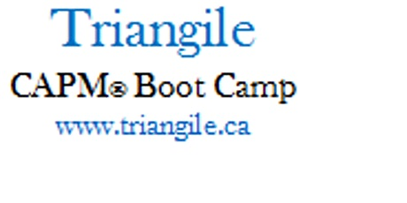 """CAPM® Exam Prep Training Boot Camp: Waterloo, ON  """"Student weekend course""""! tickets"""
