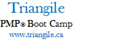 PMP Boot Camp Training Course: Toronto, Ontario tickets