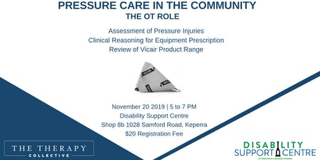 Pressure Care in the Community - The OT Role tickets
