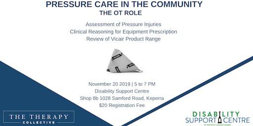 Pressure Care in the Community - The OT Role