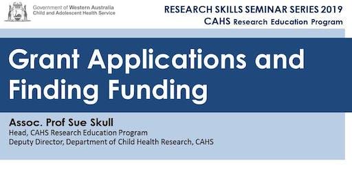 Research Skills Seminar: Grant Applications and Finding Funding - 1 November