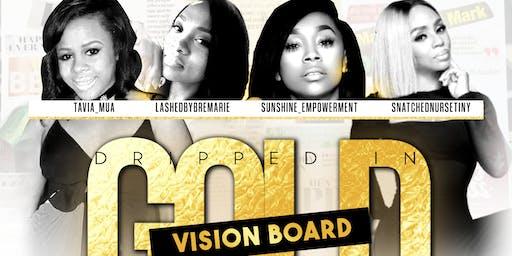 Atlanta Vision Board Pajama Party (Dripped in Gold)