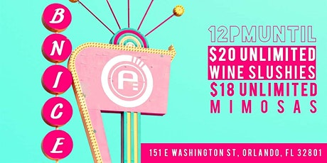 Bottomless Mimosas, Live DJ's, & More Downtown at B.Nice tickets