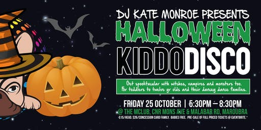 Kiddo Disco Halloween In The  BRA.