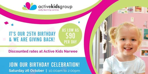 Active Kids Narwee Turns 25