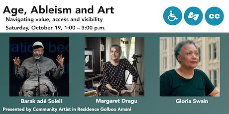 Age, Ableism and Art Panel Discussion tickets