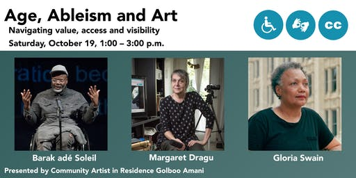 Age, Ableism and Art Panel Discussion