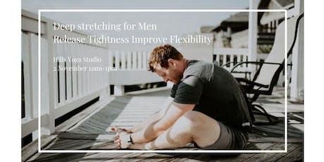 Deep Stretching for Men workshop tickets