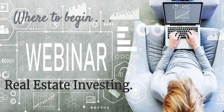 Scottsdale Real Estate Investor Training - Webinar tickets