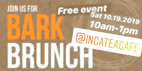 Bark Brunch @incateacafe supporting local animal shelter tickets