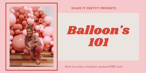 Balloons 101 - Melbourne