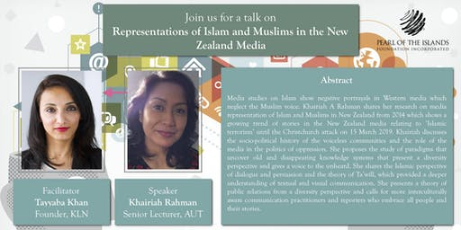 TALK: Representations of Islam and Muslims in the New Zealand Media