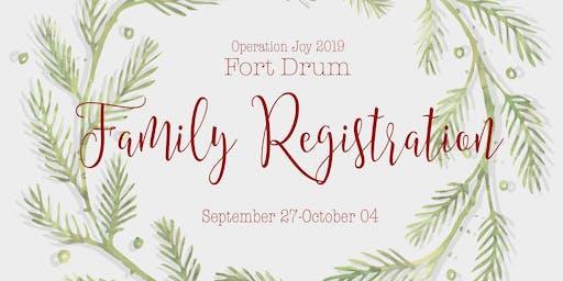 Operation Joy-Fort Drum 2019