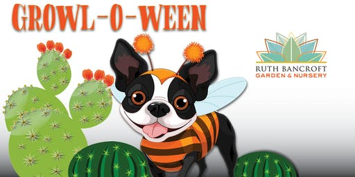Growl-O-Ween PAWty for Dogs & Human Friends at the Ruth Bancroft Garden