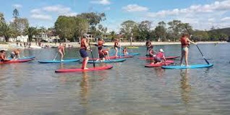 FREE Stand Up Paddle Boarding - Brisbane, Raby, Bay tickets