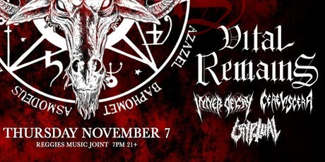 Vital Remains tickets