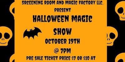 Halloween Magic  Show Party