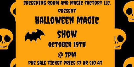 Halloween Magic  Show Party