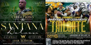 10.05-10.06.COWBOYS/PACKERS WEEKEND:CELEBRATION OF...