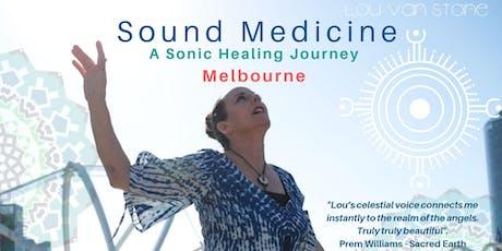 Sound Medicine - Melbourne Sonic Healing Journey tickets