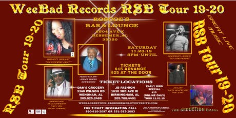 WeeBad Records RSB Tour 19-20 tickets
