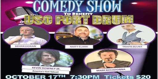 COMEDY for a Cause to benefit USO FORT DRUM