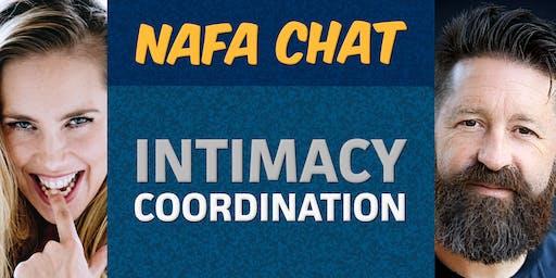 "NAFA Chat | ""Intimacy Coordination"" | Michela Carattini &  Nigel Poulton"