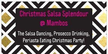 Christmas Salsa Splendour @Mambos