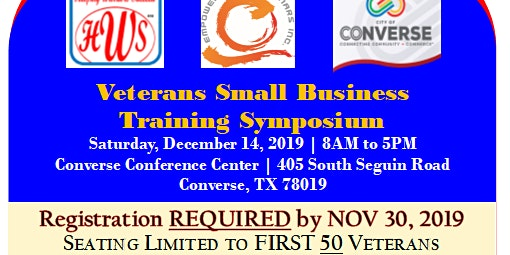 Veterans Small Business  Training Symposium - FREE!