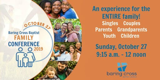 Baring Cross Family Conference 2019