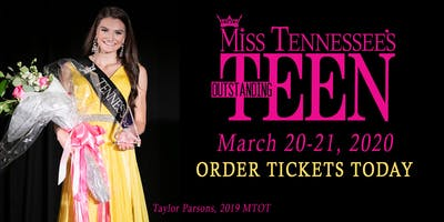 Miss Tennessee's Outstanding Teen 2020