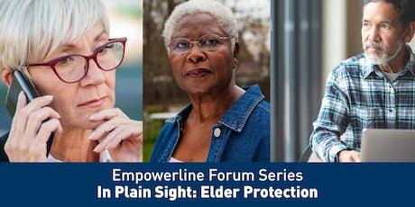 ARC Empowerline Forum - In Plain Sight: Elder Protection tickets