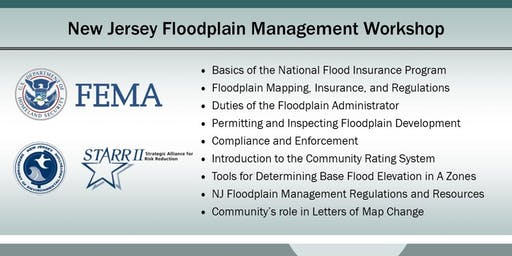 New Jersey  Floodplain Management Workshop (Bayville)