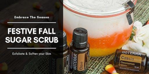 Festive Fall Sugar Scrub