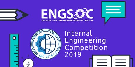Internal Engineering Competition (IEC) tickets