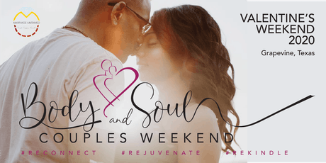Body & Soul Couples Weekend tickets