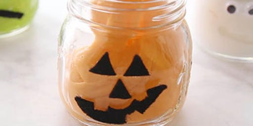Halloween slime workshop