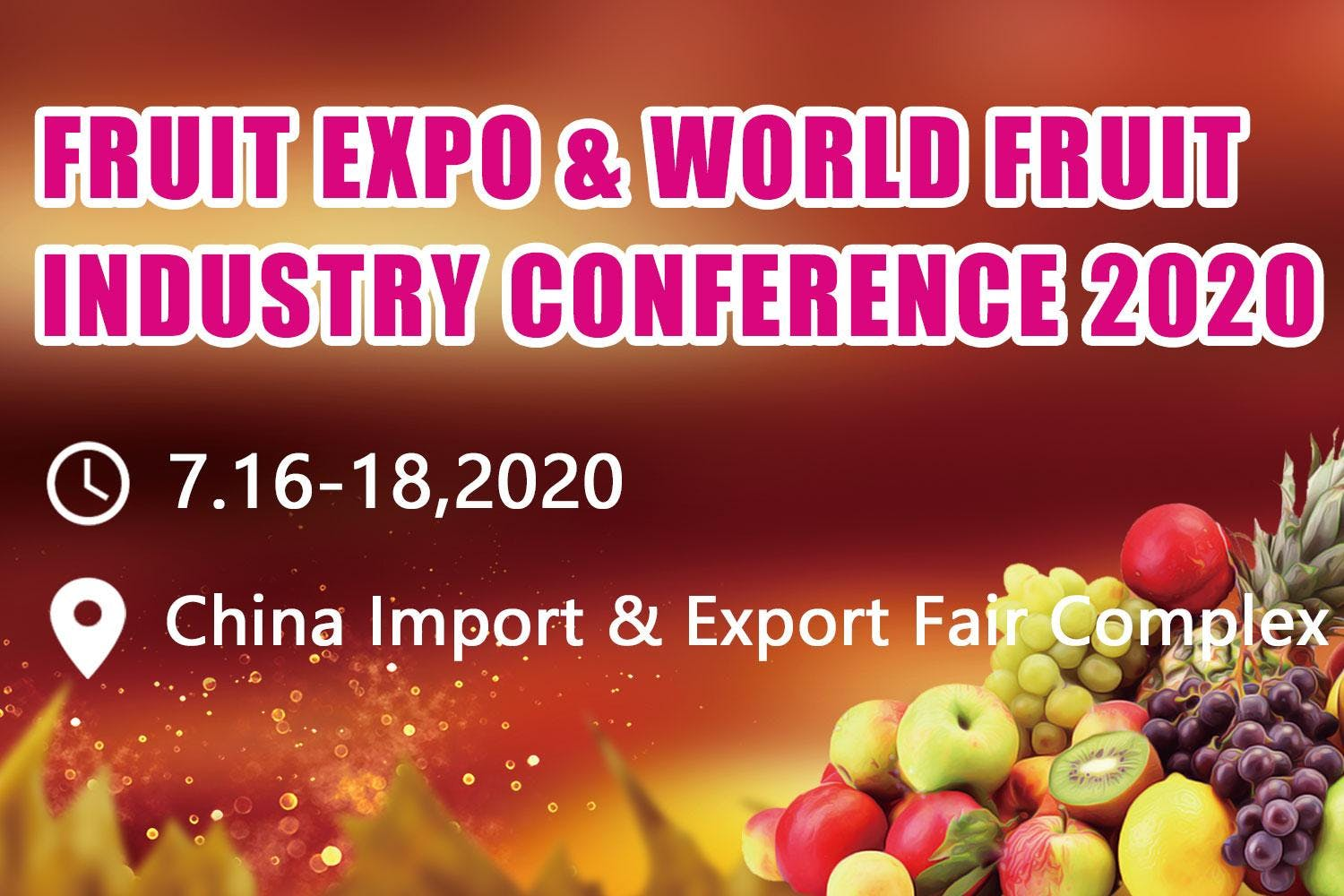 Fruit Expo & World Fruit Industry Conference 2020